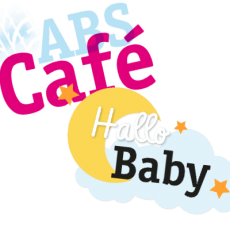 HalloBaby und ABS Cafe logos
